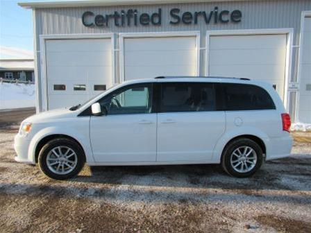 Pre-Owned 2018 Dodge Grand Caravan CVP / SXT Front Wheel Drive Minivan - Demo