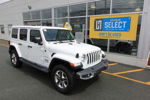 Pre-Owned 2018 Jeep Wrangler Jl Unlimited Sahara Four Wheel Drive SUV