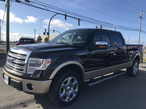 Pre-Owned 2014 Ford F150 4x4 - Supercrew Lariat - 157 WB Pick up - Demo