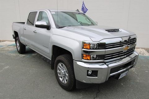 Certified Pre-Owned 2018 Chevrolet Silverado 2500 Crew 4x4 LTZ Standard Box Pick up