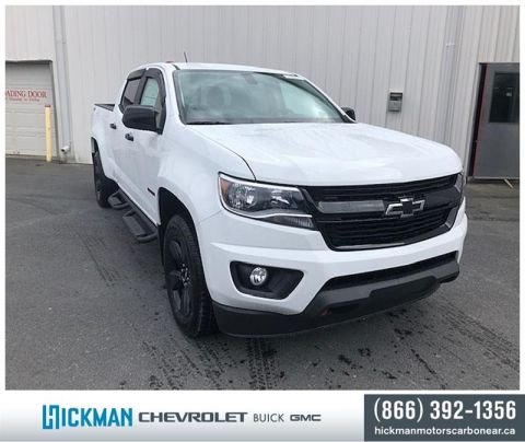 New 2020 Chevrolet Colorado Crew 4x4 LT / Long Box Four Wheel Drive Pick up - Demo