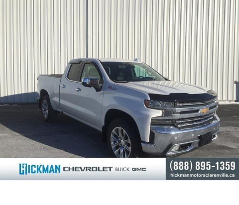 2019 Chevrolet Silverado 1500 New Double Cab 4x4 LTZ / Standard Box