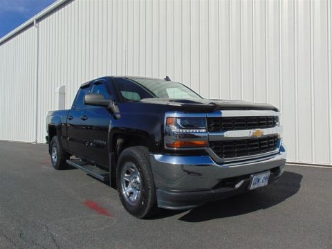 Certified Pre-Owned 2017 Chevrolet Silverado 1500 Double 4x4 LS / Standard Box Pick up