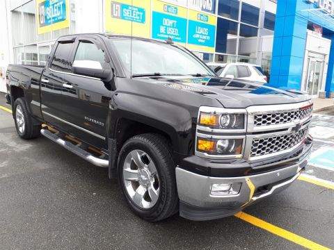 Certified Pre-Owned 2015 Chevrolet Silverado 1500 Double 4x4 LTZ / Standard Box Pick up - Demo