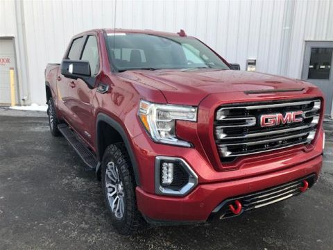 New 2020 GMC Sierra 1500 Crew Cab 4x4 At4 Short Box Four Wheel Drive Pick up