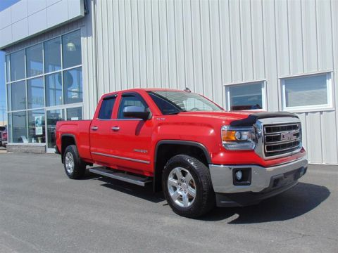 Certified Pre-Owned 2015 GMC Sierra 1500 Double 4x4 SLT / Standard Box Four Wheel Drive Pick up