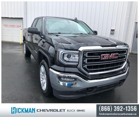 New 2019 GMC Sierra Limited 1500 Double 4x4 SLE / Standard Box Four Wheel Drive Pick up