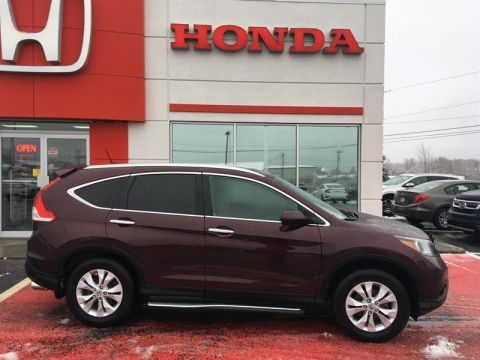 Pre-Owned 2013 Honda CRV Touring AWD All Wheel Drive Crossover - Demo