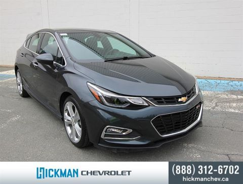 Certified Pre-Owned 2018 Chevrolet Cruze Hatchback Premier Front Wheel Drive 5-Door Hatchback