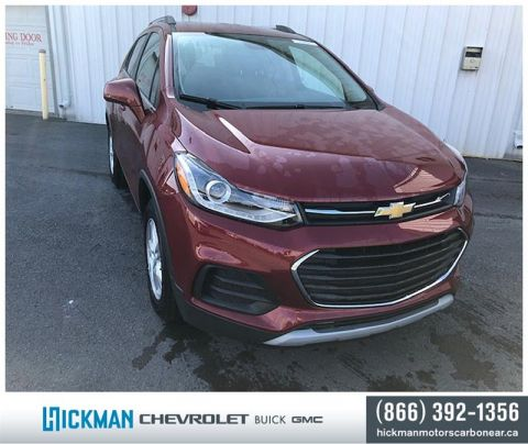 New 2019 Chevrolet Trax FWD LT Front Wheel Drive Crossover