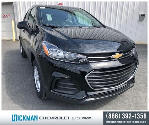 New 2019 Chevrolet Trax AWD LS All Wheel Drive Crossover