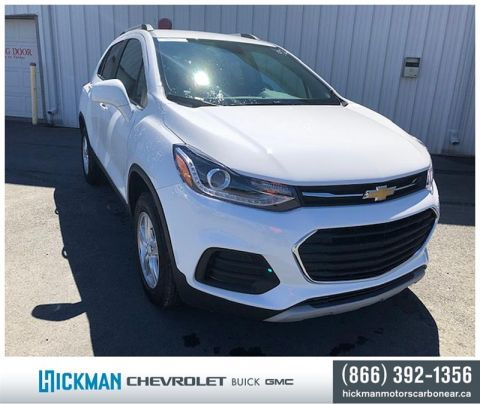 New 2019 Chevrolet Trax AWD LT All Wheel Drive Crossover