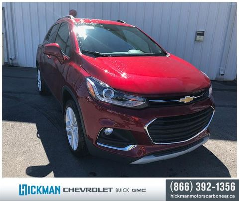New 2019 Chevrolet Trax AWD Premier All Wheel Drive Crossover - Demo