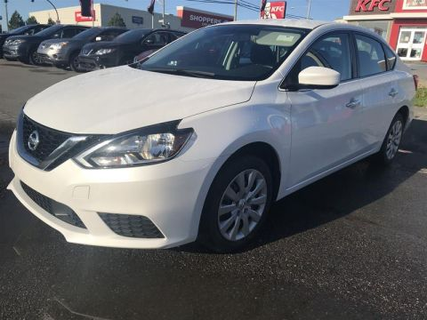 Pre-Owned 2018 Nissan Sentra 1.8 SV CVT 4-Door Sedan