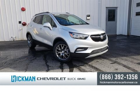 New 2019 Buick Encore FWD Sport Touring Front Wheel Drive Crossover